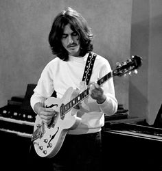 "beatlesphoto: "" George Harrison 1969 ""                                                                                                                                                                                 More"