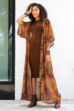 date night outfits Lace Kimono Outfit, Look Kimono, Kimono Fashion, Boho Fashion, Fashion Outfits, Japan Fashion, Cheap Fashion, Fashion Women, Shrug For Dresses