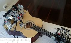 LEGO Can Play A Guitar