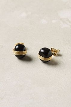 Anthropologie gold strand-wrapped stones
