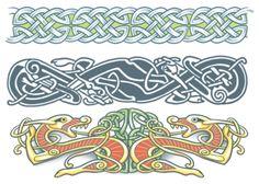 Erin Go Bragh Celtic Body Bands - Tinsley Transfers Temporary Tattoos