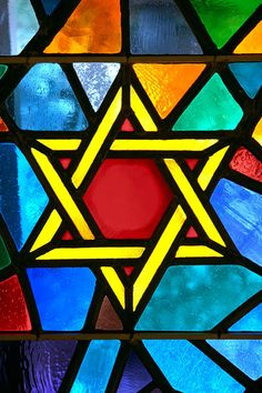 stained glass (christmas) star