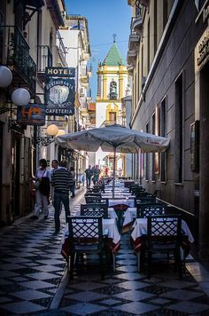 Spain Travel Inspiration - A day in Ronda, Spain. We just stayed one overnight before heading to Seville, but it was enough to see the oldest bullfighting ring and some of the Old Town