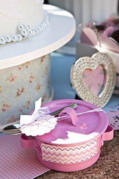 Lembrancinha de chá de cozinha / DIY, Craft, Upcycle