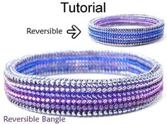 Herringbone Stitch Beading Patterns Jewelry Making