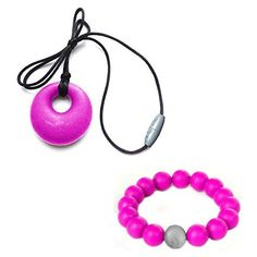Chew on this. No really, do. Itzy Ritzy's Teething Happens™ Chewable Silicone Mom Jewelry provides on-trend fashion for mom and function for baby. Beyond fashion, the soothing teething jewelry is safe and soft on baby's gums and provides an easy sensory tool to help keep baby's focus while breastfeeding. | eBay!