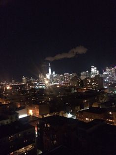 Small cloud over WTC tower