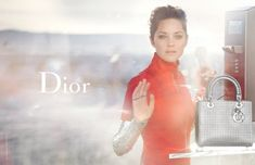 Jan Theo!   blogspot: Marion Cotillard for Lady Dior by Peter Lindbergh