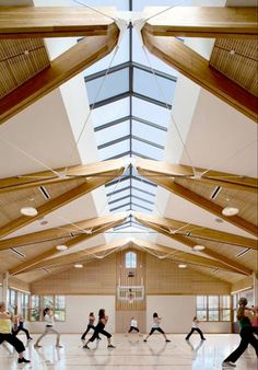 EWP Modern White Pine Ceiling 2