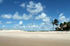 Praia de Maracajaú, onde se faz o mergulho nos Parrachos, imperdível!