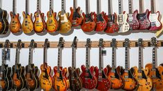 Feast your eyes on this Brooklyn-based store, which sells impeccably restored vintage Gibson, Martin, and Fender guitars.