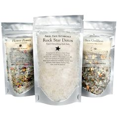 Organic Bath Salts : Hibiscus Blush - Blushing Tropical Bath - Vegan - Fabulous Essential Oil Sea Salt Bath Soak 5 oz