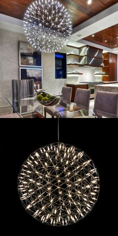Pendant Star light Orb