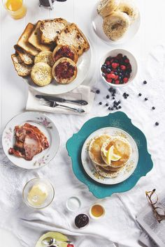 Food styling // tablescape photoshoot by The Story of Us for Tip Top
