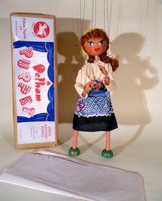 BROWN BOXED - The Vintage Pelham Puppet Shop