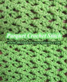 Parquet Crochet Stitch - Many stitches on this site!