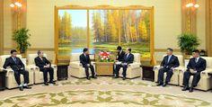 최고인민회의 상임위원회 위원장이 라오스고위청년대표단을 만났다-《조선의 오늘》