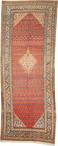 Malayer long carpet  size approximately 5ft. 4in. x 14ft.