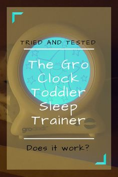 Do Gro Clocks actually work?: A tale of two toddlers and their Gro Clocks. I hate to admit it, but they might actually work for sleep training toddlers Parenting Toddlers, Parenting Books, Parenting Advice, Parenting Websites, Parenting Classes, Foster Parenting, Parenting Quotes, Safety Rules For Kids, Toddler Sleep Training