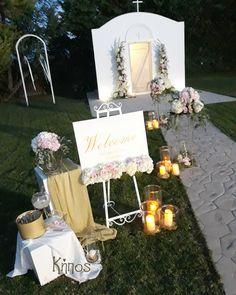 Γάμος σε κτήμα,ροζ άσπρες ορτανσίες. welcome sign wedding white rink hydrangea