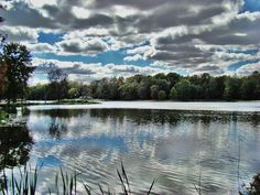 fowler park lake by larkyreed, via Flickr
