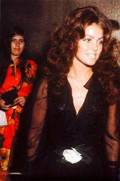 "Priscilla attending an ""Elvis"" performance in Vegas."