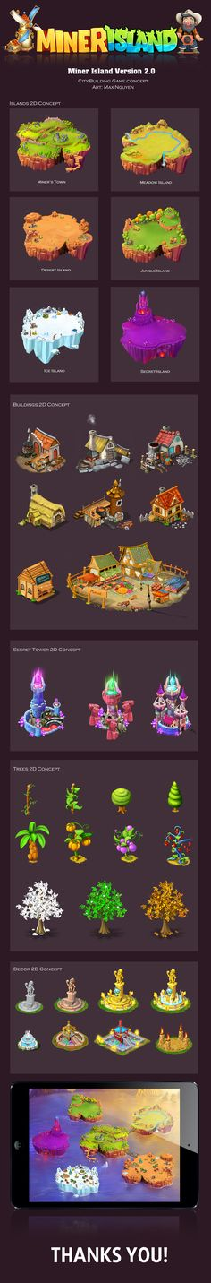 Miner Island Version2.0 on Behance