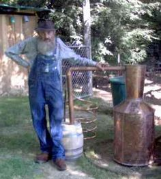 Moonshine - Popcorn Sutton, the greatest Moonshiner of all time! He's gotta be my kin somewhere down the line!