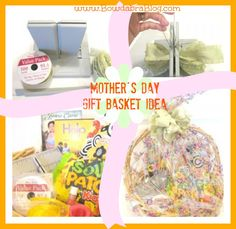Mothers gift basket Bowdabra bow tutorial