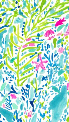 Let there be silence while this Lilly Pulitzer print does the talking : Blue Heaven.