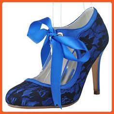 7b310e546ccf Colleen s Wedding · Fashionmore Women s High Heels Shoes Blue 10 US - Pumps  for women ( Amazon Partner