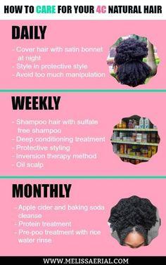 Melissa Erial - Natura Hair Growth - Natural Hair Styling Updos