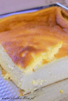 g) lub aromat waniliowy do smaku Sweet Desserts, Sweet Recipes, Delicious Desserts, Cake Recipes, Dessert Recipes, Yummy Food, Polish Desserts, Tiffin Recipe, Deli Food