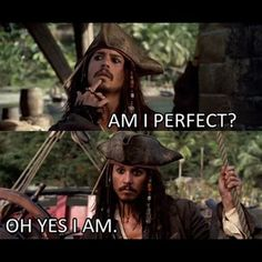Johnny Depp as Captain Jack Sparrow in Pirates of the Caribbean Captain Jack Sparrow, Jack Sparrow Funny, Jack Sparrow Quotes, Jake Sparrow, Movies Quotes, Funny Quotes, Funny Memes, Hilarious, It's Funny