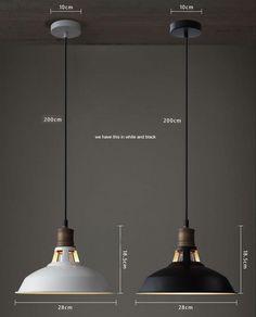 Trend Mark E27 25cm Vintage Industrial Ceiling Lamp Shade Glass Pendant Lights Lamp Bases Lights & Lighting