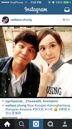 Wallace Chung Tiffany Tang, Wallace Chung, Chinese Actress, Handsome, Actresses, Actors, Celebrities, People, Movies