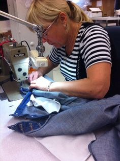 Yes, we also do denim alterations! Liuba is taking in a pair of jeans https://twitter.com/LdnFittingRooms/status/533277662991904768/photo/1