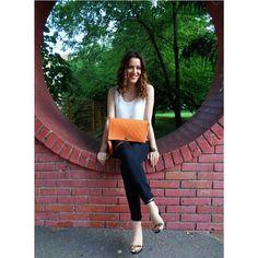 #miss_s_design #handmade #orange #bag #Lolitabag #madeinBiH #makestyle #streetstyle #streetlook #fashion #outfit #style #stylish #trend #ootd #potd #lotd #wearit_loveit #zaradaily