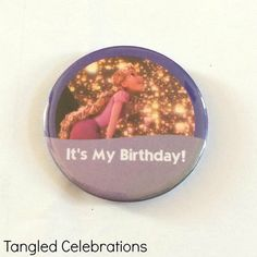 Hey, I found this really awesome Etsy listing at https://www.etsy.com/listing/228836018/rapunzel-tangled-its-my-birthday-disney