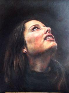 Beth Kidd  Oil on Paper A2 Fine Art