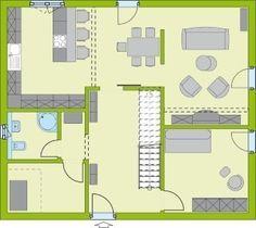 Grundriss einfamilienhaus modern gerade treppe  RENSCH HAUS - Plus-Energie-Haus - Musterhaus Avenio Garderobe ...