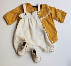 Adorable, classic baby girl style
