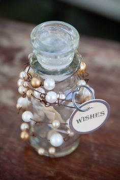 Wishes, make one for each of the kids, with my wishes for them inside