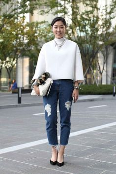 South Korea Street Style - Seoul Fashion Week
