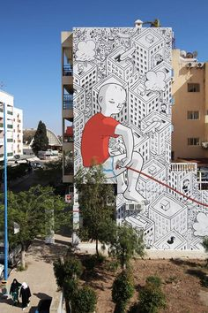 MILLO .. Ýou make my heart spin around' .. for Street Art Caravan .. [City of Safi, Morocco 2016] (A)