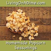 homemade popcorn seasonings
