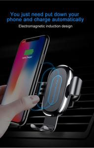 38b1ebb4e556d Car Qi Wireless Charger For iPhone XS Max X 8 Samsung S10 Xiaomi Mi 9 #