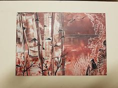 VesMirka / Maľba horúcim voskom - obraz