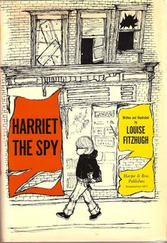 I wanted to be just like Harriet.  I collected all sorts of random things - spying on my neighborhood.