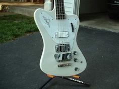 Gibson non-reverse Firebird bass design, 1963